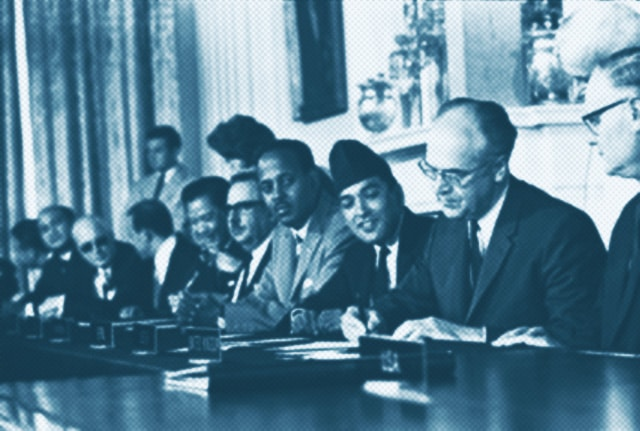 Signing of the NPT, 1968
